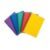 Notebook Sidebound Ruled 90gsm 120 Pages A5 Assorted A [Pack 10]