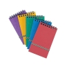 Notepad Wirebound Elasticated Ruled 90gsm 120 Pages 176x76mm Assorted C [Pack 20]