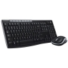 Logitech MK260/270 Keyboard and Mouse Desktop Set Compact Wireless Black Ref 920-004523