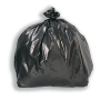 5 Star Facilities Bin Bags Economy Light Duty 95 Litre Capacity Black [Pack 200]