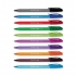 Paper Mate InkJoy 100 Ballpoint Pen 1.0 Tip 0.7mm Line Assorted Ref S0957191 [Pack 10]