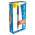 Papermate Ultrafine Felt Tip Pen 0.8mm Tip 0.4mm Line Blue Ref S0901330 [Pack 12]