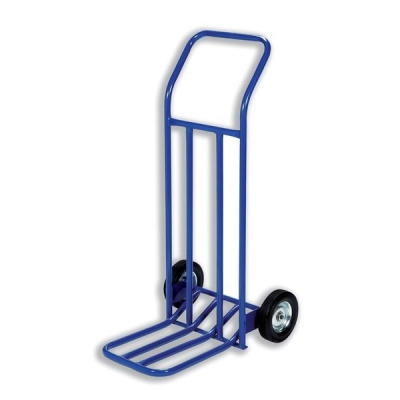 Hand Trolley General Capacity 160kg Wheel 205mm Foot Size W565xL640mm Blue Ref HT1585 [287998]