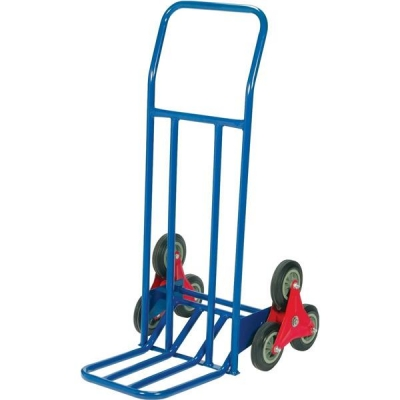 RelX Stair Climbing Sack Truck 6 Wheels Capacity 75kg W615xD745xH1160mm Blue Ref HT1312A