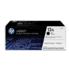 Hewlett Packard [HP] No. 12A Laser Toner Cartridge Page Life 4000pp Black Ref Q2612AD [Pack 2]