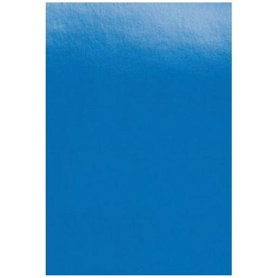 GBC PolyCovers Opaque Binding Covers Polypropylene 300 micron A4 Blue Ref IB386800 [Pack 100]