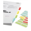 Durable QuickTab Index Tabs Non-Permanent Single Sided 40mm Assorted Colours Ref 8405/00 [Pack 48]