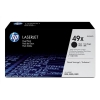 Hewlett Packard [HP] No. 49X Laser Toner Cartridge Page Life 12000pp Black Ref Q5949XD [Dual Pack]