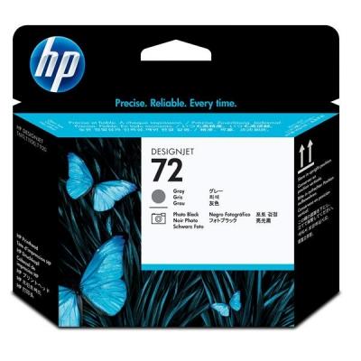 Hewlett Packard [HP] No. 72 Printhead Grey & Photo Black Ref C9380A