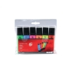 5 Star Highlighters Chisel Tip 1-5mm Line Assorted [Wallet 6]