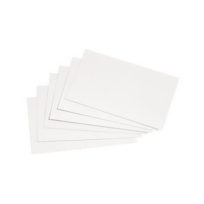 5 Star Record Card Smooth Blank 127x76mm White [Pack 100]