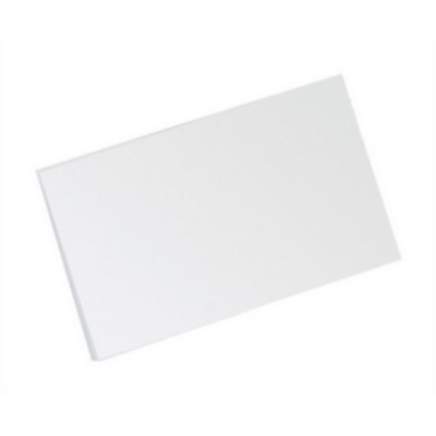 5 Star Record Card Smooth Blank 203x127mm White [Pack 100]