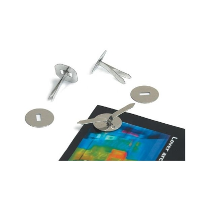 Paper Binders Tinned Steel with Washers 19mm [Pack 200]