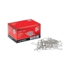 5 Star Paperclips Metal Large 33mm Lipped [Pack 10x100]