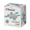 Rexel 66 Staples 8mm Ref 06065 [Pack 5000]