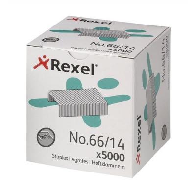 Rexel 66 Staples 14mm Ref 06075 [Pack 5000]