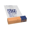 Acorn Bin Liners Reusable Capacity 95 Litres Clear/Printed Ref 142966 [Roll 50]