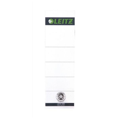 Leitz Replacement Spine Labels for Standard Lever Arch File Self Adhesive Ref 1642-00-85 [Pack 10]