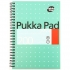 Pukka Pad Jotta Notebook Wirebound Perforated Ruled 80gsm 200pp A5 Metallic Ref JM021 [Pack 3]