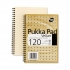 Pukka Pad Vellum Notebook Wirebound Perforated Ruled Margin 80gsm 120pp A4 Vellum Ref VJM/1 [Pack 3]
