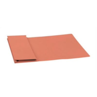 5 Star Document Wallet Full Flap 315gsm Capacity 35mm Foolscap Orange [Pack 50]