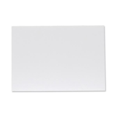 Display Board Lightweight Durable CFC Free W420xD5xH594mm A2 White [Pack 20]