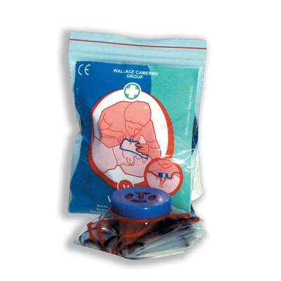 Wallace Cameron Resusciade Vent Aid Protective Equipment Mouth to Mouth Ref 5001026 [Pack 3]
