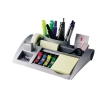 Desktop Organiser Pen Pot Weighted Base Silver