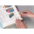 Post-it Index Strong 25mm Assorted Pink Green and Orange Ref 686-PGO [Pack 66]