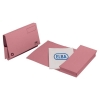 Elba Probate Wallets Manilla 310gsm Full Flap Foolscap Pink Ref 100090052 [Pack 25]