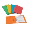 Elba Bright Transfer Spring File 285gsm Foolscap Assorted Ref 100090330 [Pack 10]