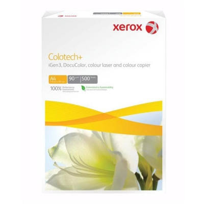 Xerox Colotech Plus Copier Paper Premium Ream-Wrapped 90gsm A4 White Ref 003R98837 [500 Sheets]