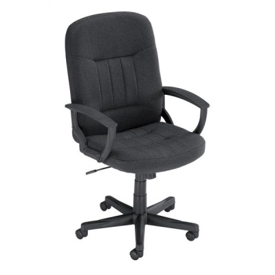 Trexus High Back Manager Armchair W520xD420xH420-520mm Backrest H620mm Charcoal