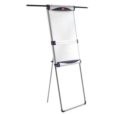 Nobo Piranha Flipchart Easel Magnetic with Extending Display Arms Ref 1901919