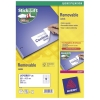Avery Labels Removable Laser 12 per Sheet 99.1x42.3mm White Ref L4743REV-25 [300 Labels]