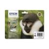 Epson T0895 Inkjet Cartridge DURABrite Monkey Black/Cyan/Magenta/Yellow Ref C13T08954010 [Pack 4]