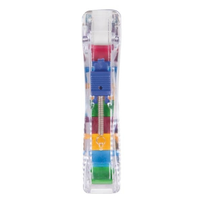 Rapesco Supaclip 40 Dispenser with 25 Clips for 40 Sheets of 80 gsm Stainless Steel Ref RC4025SS
