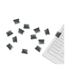 Rapesco Supaclip 40 Refill Clips for 40 Sheets of 80gsm Stainless Steel Ref CP20040S [Pack 200]