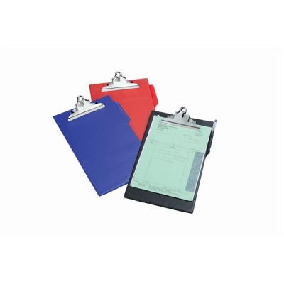 5 Star Clipboard PVC Finish Heavy Duty Foolscap Black