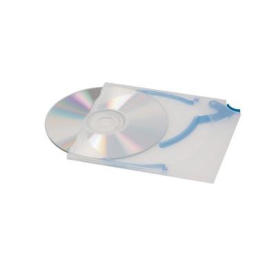 Durable CD Quickflip Standard Case Slimline for 1 Disk Translucent Ref 5267/06 [Pack 5]