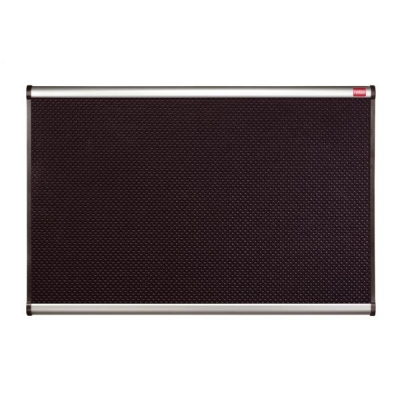 Nobo Prestige Noticeboard High-density Foam with Aluminium Finish W1800xH1200mm Black Ref QB347A