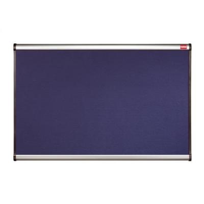 Nobo Prestige Noticeboard Diamond Mesh with Aluminium Finish W1200xH900mm Blue Ref QBR444A
