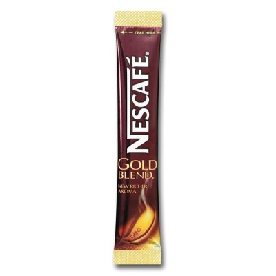 Nescafe Gold Blend Instant Coffee Granules Stick Sachets Ref 5219616 [Pack 200]