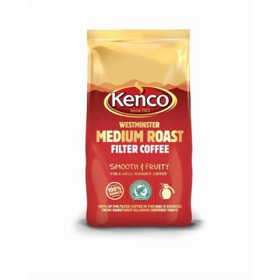 Kenco Westminster Ground Coffee for Filter Medium Roast 1Kg Ref A03061