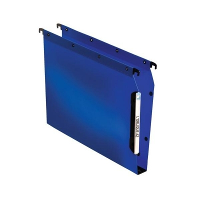 Elba Ultimate Polypro Lateral File Polypropylene 330mm 30mm Base A4 Blue Ref 100330584 [Pack 25]