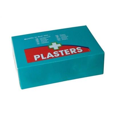 Wallace Cameron Pilferproof Plaster Twist & Open Refill Blue Ref 1214089 [Pack 60]