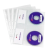 Rexel Nyrex CD Pocket Multipunched For 2 CDs A4 Clear Ref 2001007 [Pack 5]