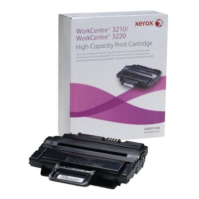 Xerox Laser Toner Cartridge High Yield Page Life 4100pp Black Ref 106R01486