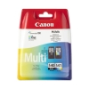 Canon PG-540/CL-541 Inkjet Cartridge Page Life 180pp Black/Colour Ref 5225B006 [Pack 2]