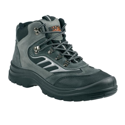 Sterling Worksite Safety Hiker/Training Boots Steel Toecap and Midsole Grey Size 12 Ref SS605SM12